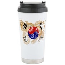 South Korea Flag Travel Mug