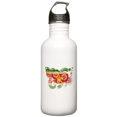 Suriname Flag Water Bottle
