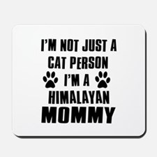 Himalayan Cat design Mousepad