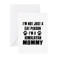 Himalayan Cat design Greeting Card