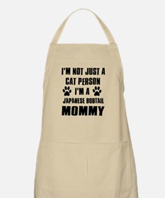 Japanese Bobtail Cat Design Apron