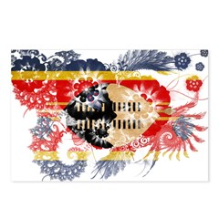 Swaziland Flag Postcards (Package of 8)