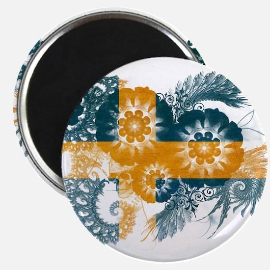 """Sweden Flag 2.25"""" Magnet (10 pack)"""