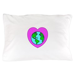 Love Our Planet Pillow Case