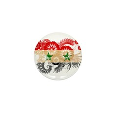 Syria Flag Mini Button (100 pack)