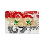 Syria Flag Rectangle Magnet (10 pack)
