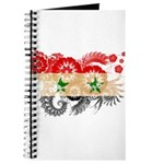 Syria Flag Journal