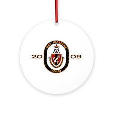 USS Nicholas (FFG-47) Ornament (Round)