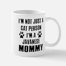 Javanese Cat Design Mug
