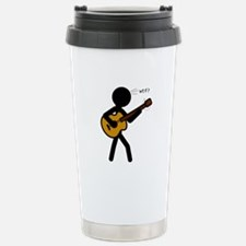 Guitar WTF? Stainless Steel Travel Mug