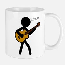 Guitar WTF? Small Small Mug