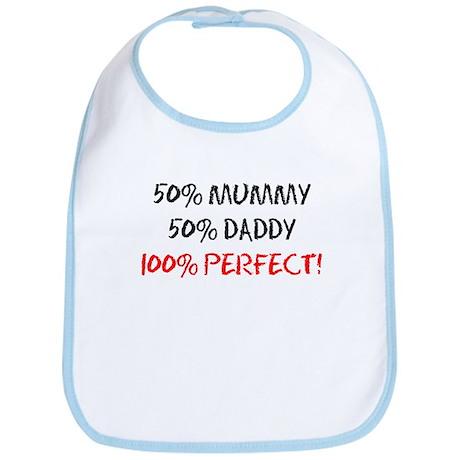 Fifty Percent Mummy Bib