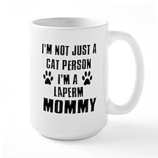 Laperm Cat Design Mug