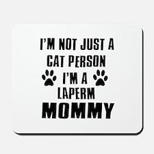 Laperm Cat Design Mousepad