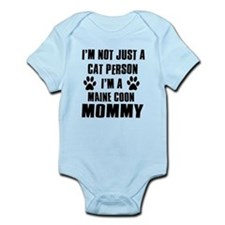 Maine Coon Cat Design Infant Bodysuit