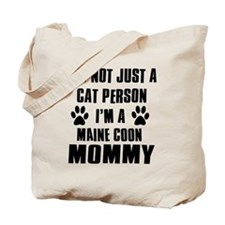 Maine Coon Cat Design Tote Bag