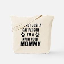 Maine Coon Cat Design Tote Bag