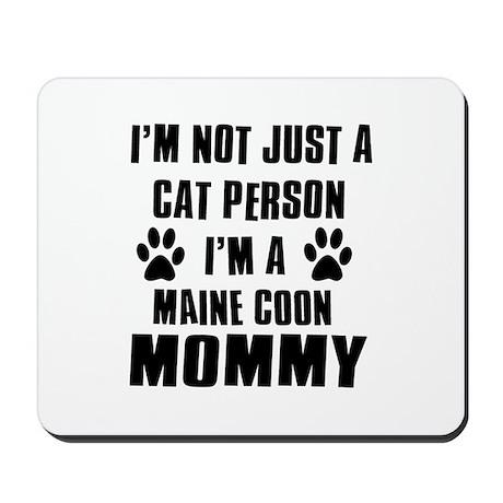 Maine Coon Cat Design Mousepad