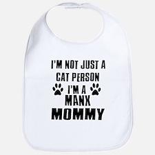 Manx Cat Design Bib