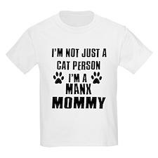 Manx Cat Design T-Shirt