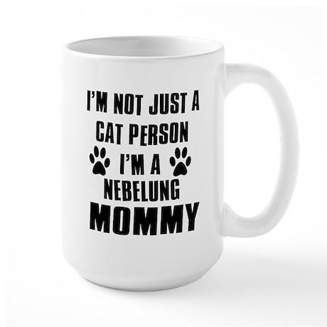 Nebelung Cat Design Large Mug