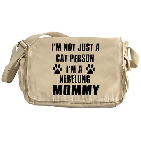 Nebelung Cat Design Messenger Bag
