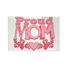 Proud Mom Rectangle Magnet
