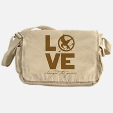 Love Changed the Games Messenger Bag