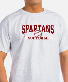 Spartans Softball T-Shirt