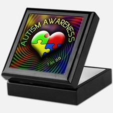 Autism Awareness - 1 in 88 Keepsake Box