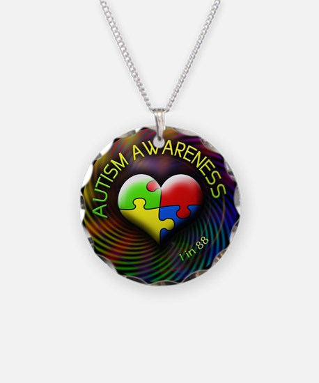 Autism Awareness - 1 in 88 Necklace