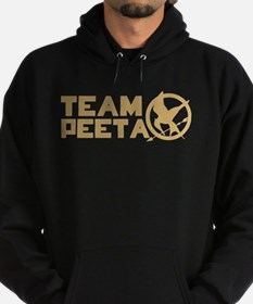 Team Peeta and Love Changed t Hoodie (dark)