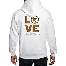 Team Peeta and Love Changed t Hoodie