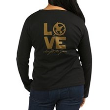 Team Peeta and Love Changed t T-Shirt