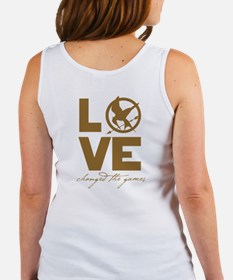 Team Peeta and Love Changed t Women's Tank Top