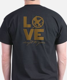 Team Peeta and Love Changed t T-Shirt