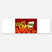 Cute I am amazing Sticker (Bumper)