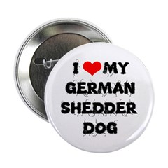 "German Shepherd Dog 2.25"" Button (100 pack)"