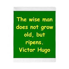 victor hugo quote Twin Duvet