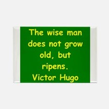 victor hugo quote Rectangle Magnet