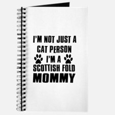 Scottish Fold Cat Design Journal
