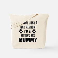 Selkirk Rex Cat Design Tote Bag
