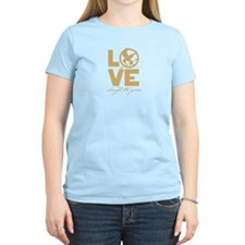 love and real or not real T-Shirt