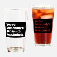 Funny Masturbation Drinking Glass