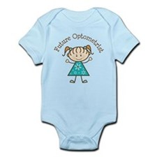 Future Optometrist Girl Infant Bodysuit