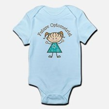 Future Optometrist Girl Infant Bodysuit
