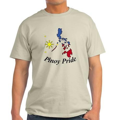 Pinoy Pride Map Light T-Shirt