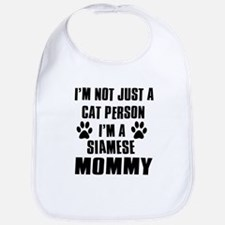 Siamese Cat Design Bib