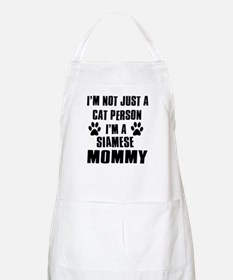 Siamese Cat Design Apron
