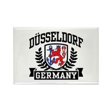Dusseldorf Germany Rectangle Magnet